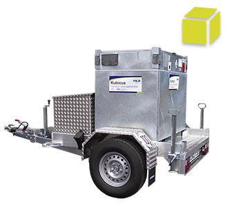 mobile tankanlagen serie kubicus von 100 bis liter. Black Bedroom Furniture Sets. Home Design Ideas