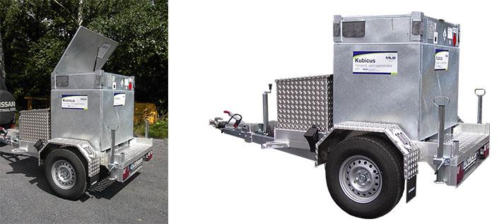 Transportanhänger Kubicus mobil
