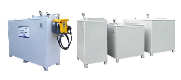stehender Tankbehälter für Ihre Betriebstankstelle