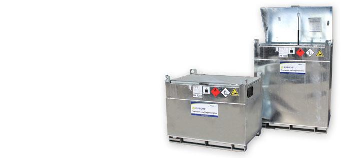 Serie Kubicus 350-100 Kraftstoffbehälter für 350 bis 1000 Liter